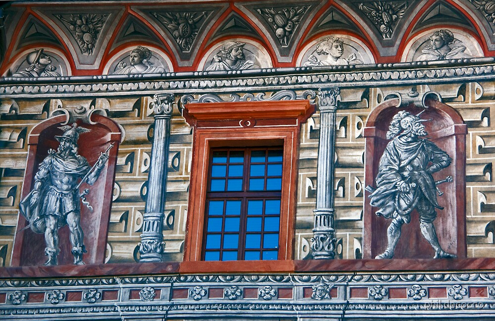 Sgraffito Facade by phil decocco