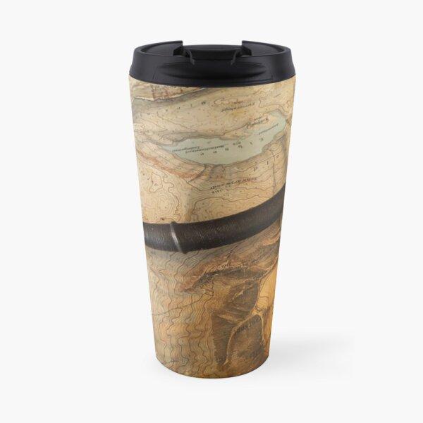 A longsword in the 16th century Swiss style. Travel Mug