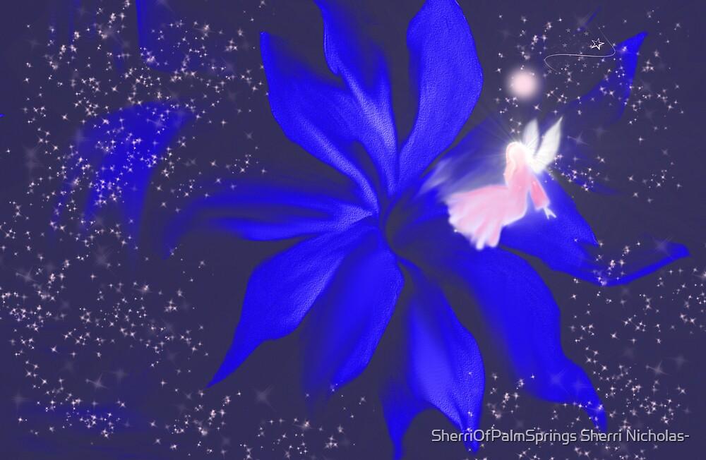 ANGEL OF THE STARS....EARLY FEB ANGEL by SherriOfPalmSprings Sherri Nicholas-
