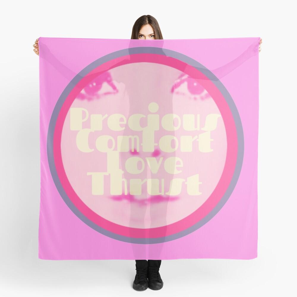Precious Comfort Love Thrust Logo Scarf