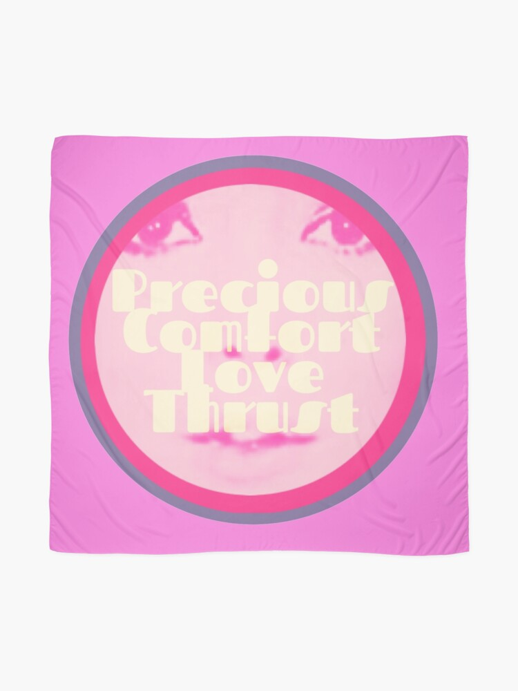 Alternate view of Precious Comfort Love Thrust Logo Scarf