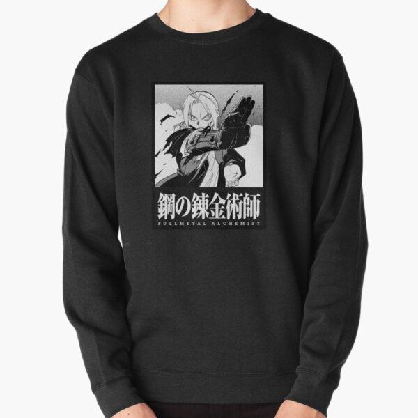 Panneau de manga Fullmetal Alchemist Edward Elric Sweatshirt épais