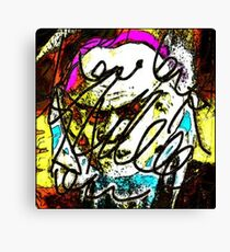 Quark Canvas Print
