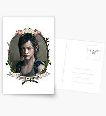 Endure and Survive - Ellie // The Last of Us  Postcards