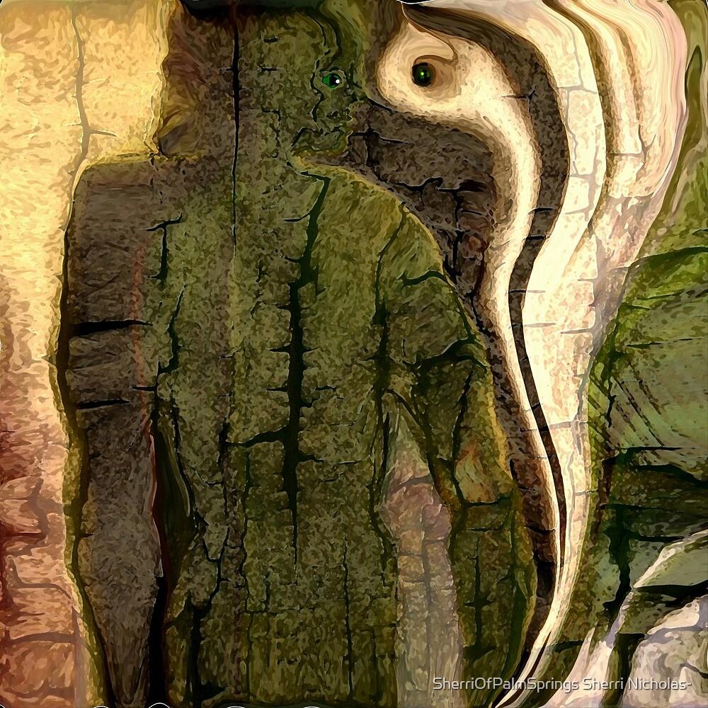 THE KING COBRA MEETS MAN EYE TO EYE by Sherri Palm Springs  Nicholas