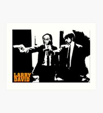 Larry David Pulp Fiction Art Print
