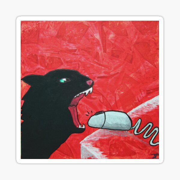 Mousebite Sticker
