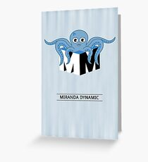 Miranda Dynamic Greeting Card