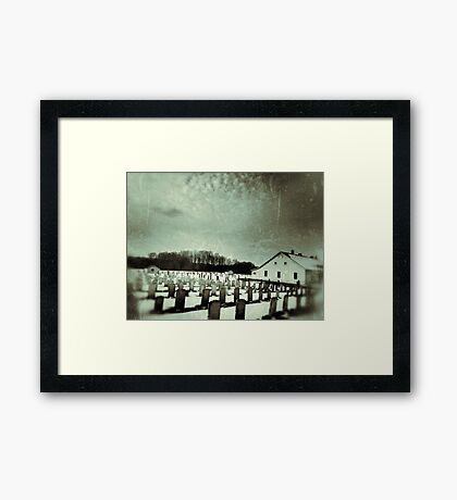 We Are the Dead Framed Print