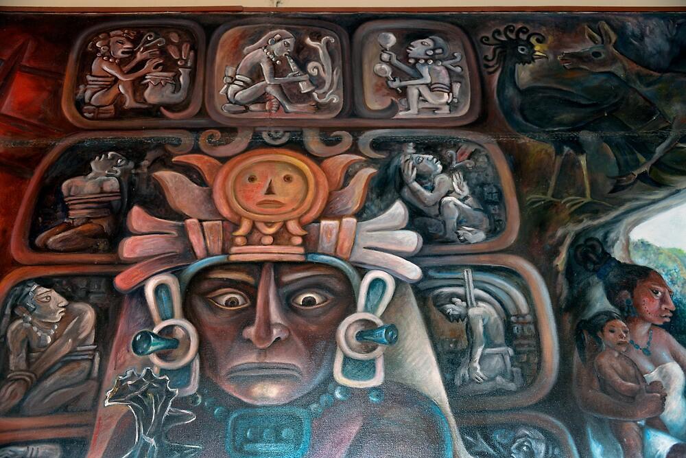 Mayan Art by Klaus Bohn