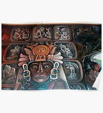 Mayan Art Poster