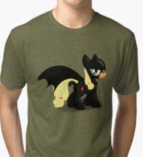 The Hero Ponyville Deserves Tri-blend T-Shirt