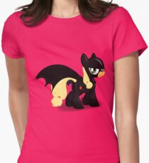 The Hero Ponyville Deserves Womens Fitted T-Shirt