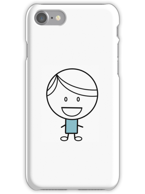 Just A Boy iPhone Case by geesebot