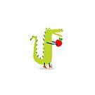 Hungry Crocodile by menulis