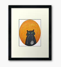 So,what you're gonna do now? Framed Print