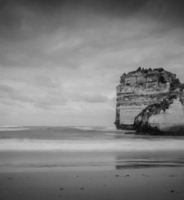 Rocks in the Open by Alan  Wright