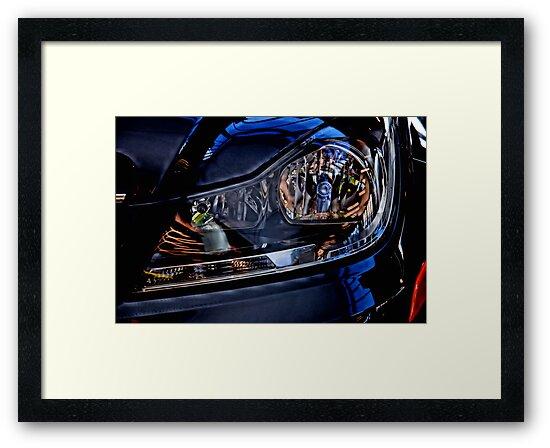 Silk Mercedes by Bob Wall