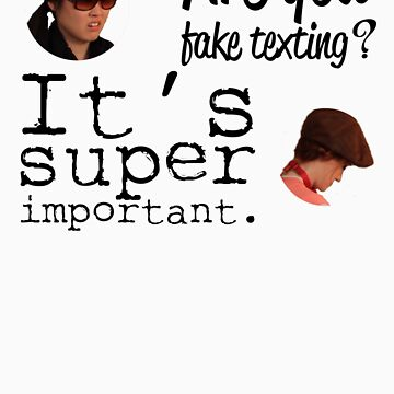 Are You Fake Texting? | Lizzie Bennet Diaries by jlbeattys