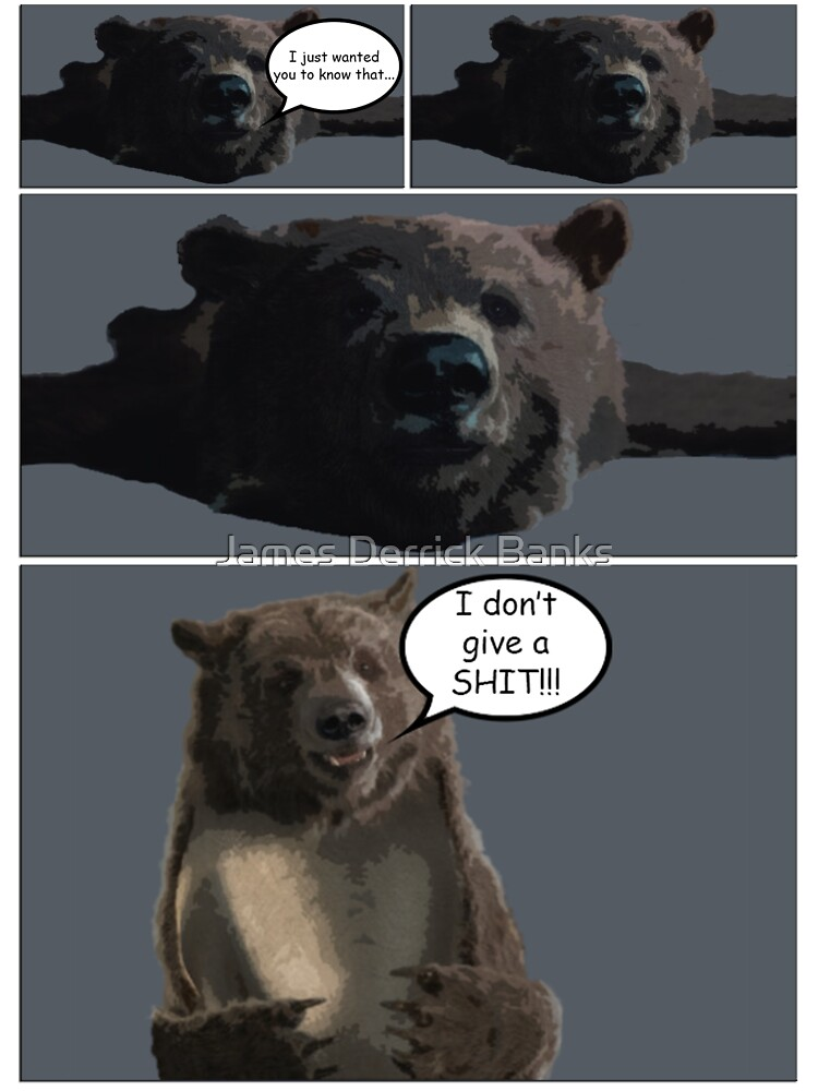 A Comic About a Bear by James Derrick Banks