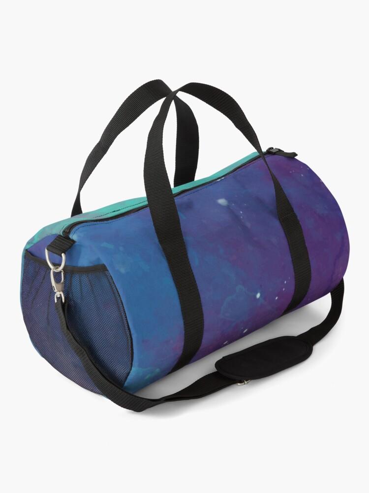 Alternate view of Night sky [watercolor] Duffle Bag