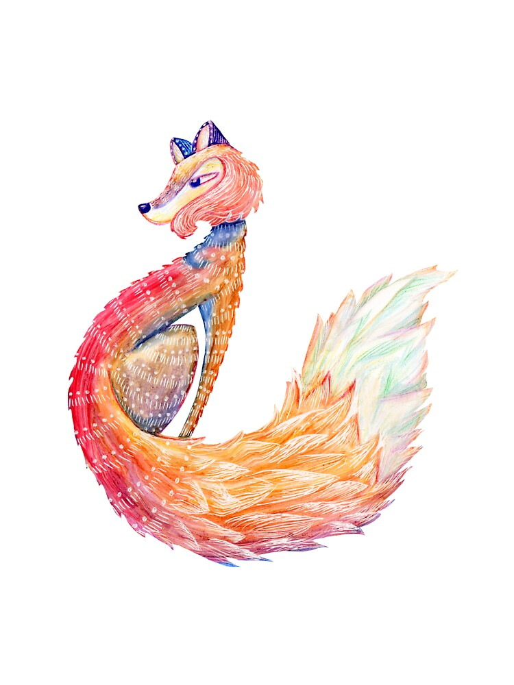 Spirit Animal - FOX by brookeduckart