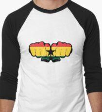 Ghana Men's Baseball ¾ T-Shirt