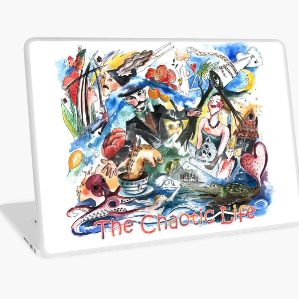 Chaotic life Laptop Skin
