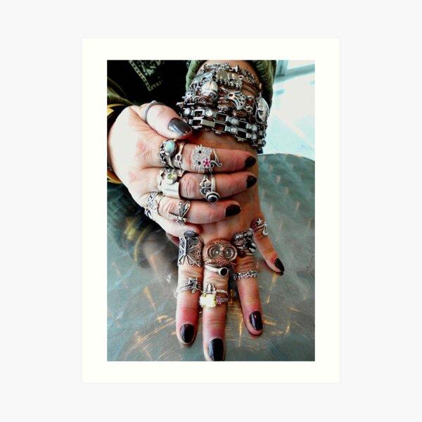A little jewelry??? © Art Print