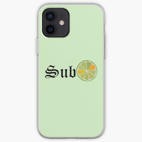 SubLIME iPhone Soft Case
