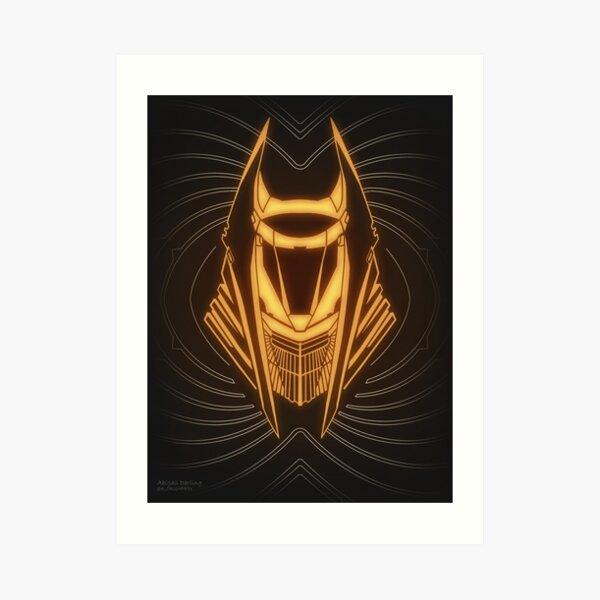 Exile Warlock Hood Art Print