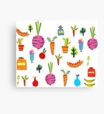 Kitchen Stories Canvas Print