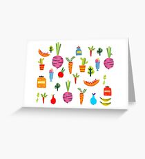 Kitchen Stories Greeting Card