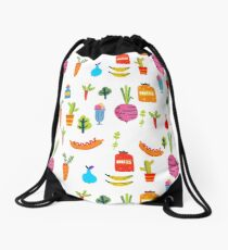 Kitchen Stories Drawstring Bag