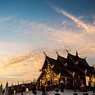 Royal Park Rajapruek on sunset by naphotos