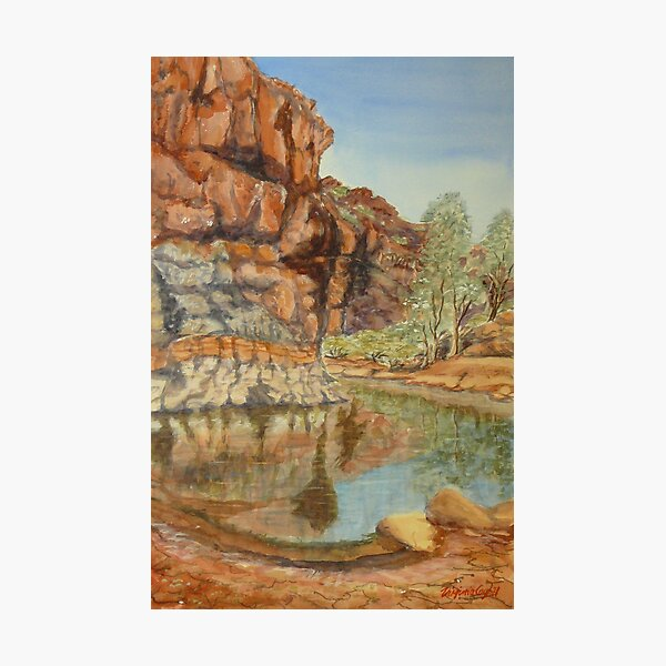 Barraranna Waterhole, Flinders Ranges Photographic Print
