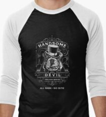 HANDSOME DEVIL BULLDOG RESCUE Men's Baseball ¾ T-Shirt
