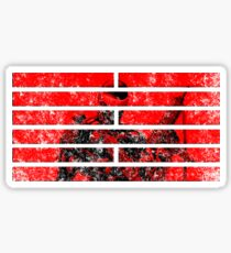 Snake Eyes Symbol Sticker