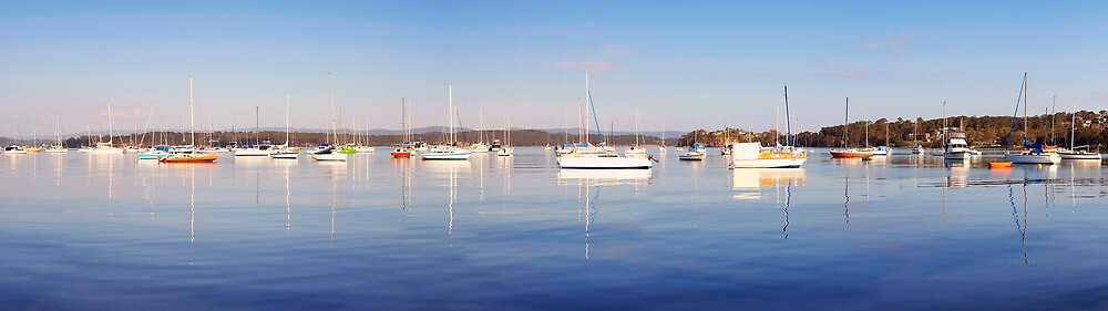 Valentine Yachts Panorama by Maxwell Campbell