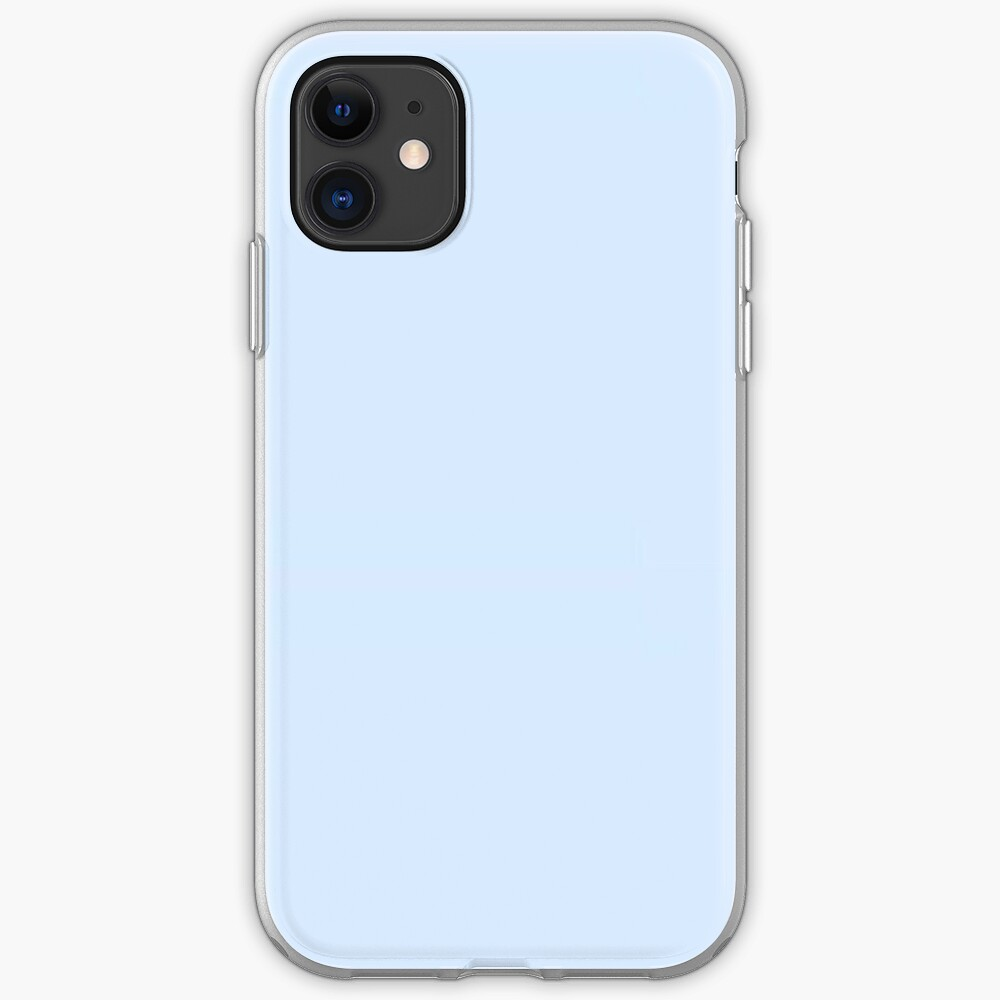 Baby Blue Aesthetic Iphone Case Cover By Seaairah Redbubble