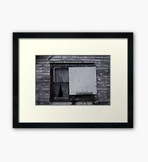 Decay 4 Framed Print