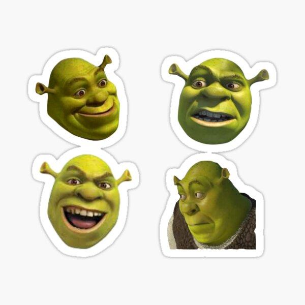 Paquete de pegatinas Shrek Pegatina