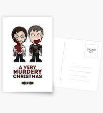 Hannibal Christmas card Postcards
