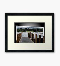 Windermere . Framed Print