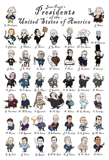 Presidents of the United States of America by jasonpruett