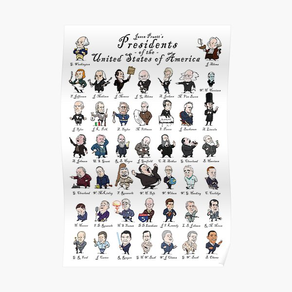 Presidents of the United States of America Poster