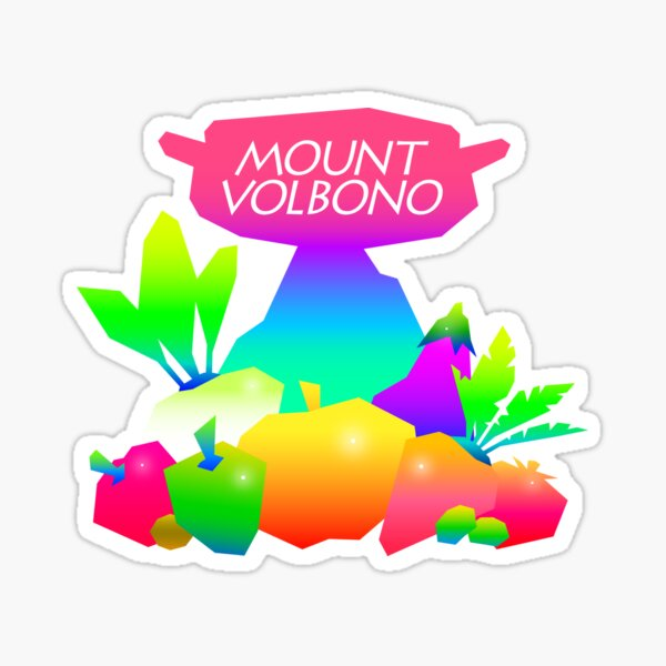 Monte Volbono Pegatina