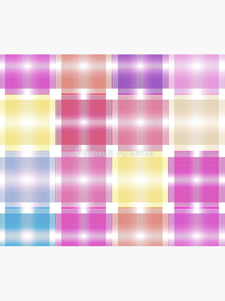 Chic and Pretty Pastel Patchwork Fabric by xpressio