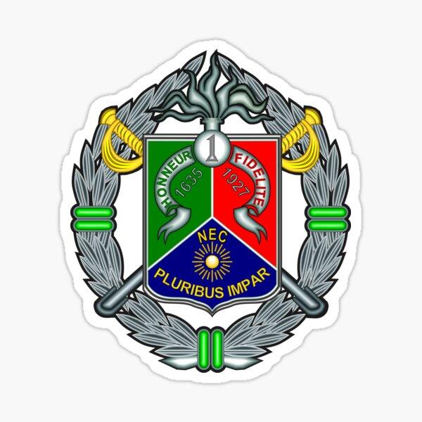 1er Régiment de cavalerie étranger - 1er Régiment Étranger de Cavalerie - Légion étrangère française Sticker