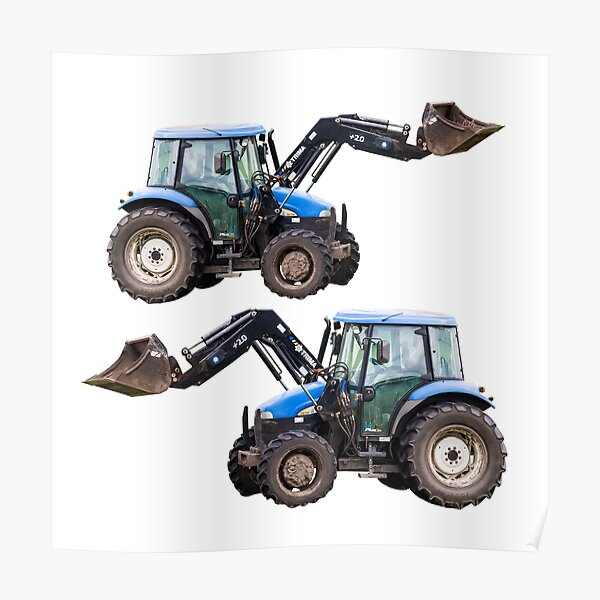 New Holland tractor Poster